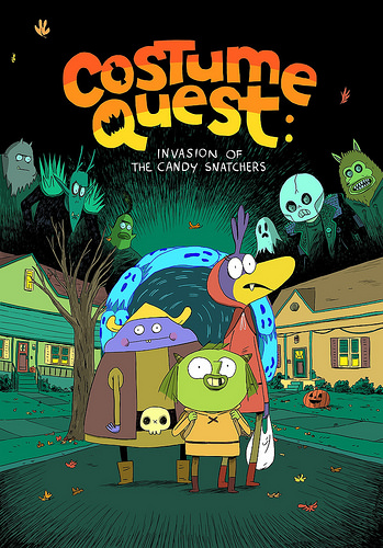 costume quest graphic novel