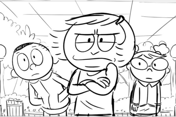 Grumpy Monday? Costume Quest storyboard director Tom Law eases the crabbiness with a tetchy…