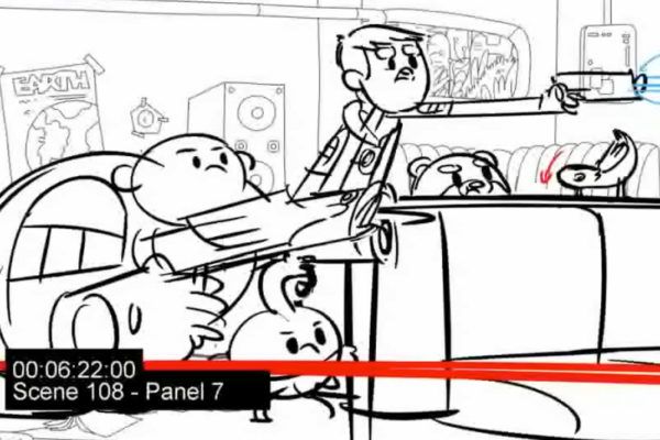 Phazers! Lasers! Space chickens! The animatic for Episode 12 of the upcoming Bravest Warriors Season…