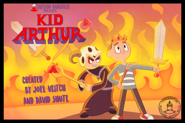 "fred-frederator-studios: I'm really late on posting Joel Veitch's & David Shute's ""Kid Arthur"" limited…"