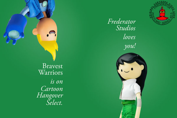 The latest season of Bravest Warriors debuted at Christmas on Cartoon Hangover Select on VRV…