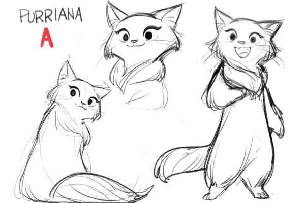 Here are few Purriana character sketches from Gurihiru for our Catlantis development. The series…