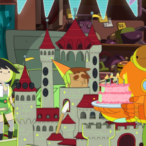 bravestwarriors:You are invited to Danny's birthday party at the Invisible Hideout! See you tomorrow…
