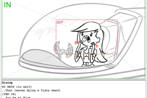 """That leaves dying a fiery death…for me or Plum…""Bravest Warriors storyboard by Cilbur Rocha"