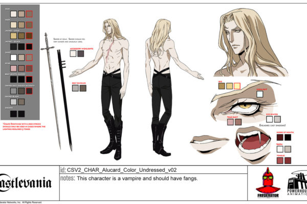 """This character is a vampire and should have ;"