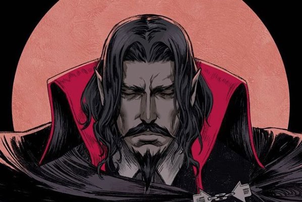 """What is a man?""35 days 'til Castlevania season 2 hits Netflix: Oct. 26, 2018 ️…"