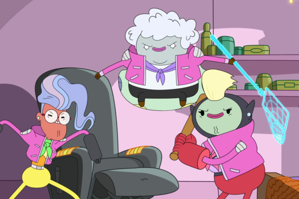 bravestwarriors: We loved having Maria Bamford, Laraine Newman, and Sandy Martin as guests on…