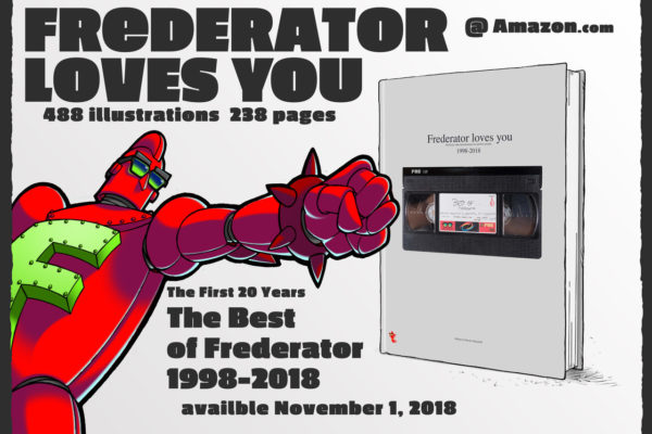 "fred-frederator-studios: ""Frederator Loves You: The Best of Frederator 1998-2018″  Available November 1, 2018 @"