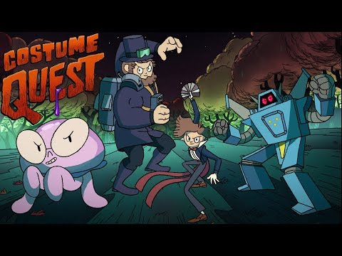 Costume Quest Main Title Cartoon Hangover is proud to premiere this main title sequence…