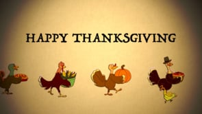 Happy Thanksgiving to all our thankful friends in the United States.We're grateful for animators…