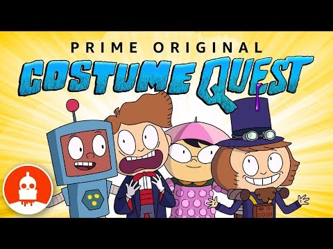 "wowunlimited: WOW! Unlimted's Frederator Studios' production of the ""Costume Quest"" series –based on the…"