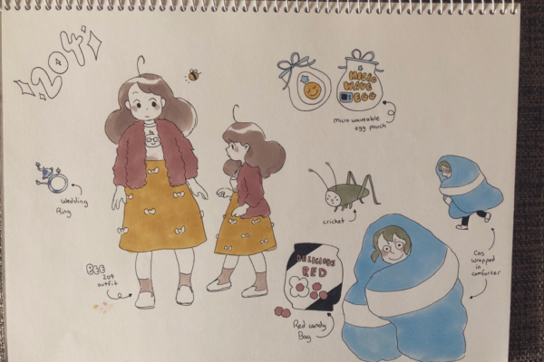 beeandpuppycat:Straight from Natasha's sketchbook to your Tumblr feed. Natasha's handwriting alone is worth the…