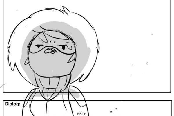 "bravestwarriors:""This better not be a pee thing."" Mordant Beth"