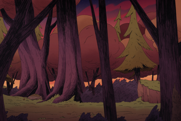 Another stunning background from the new Costume Quest episodes dropping this Friday
