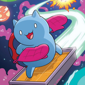 Happy National Cat Day from everyone's favorite Catbug!!Thanks to artist Zachary Sterling for this great…