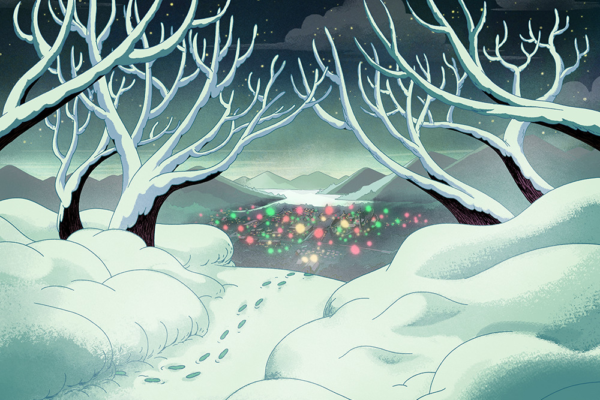 Auburn Hollow is about to get real Christmas-y in the brand new Costume Quest…