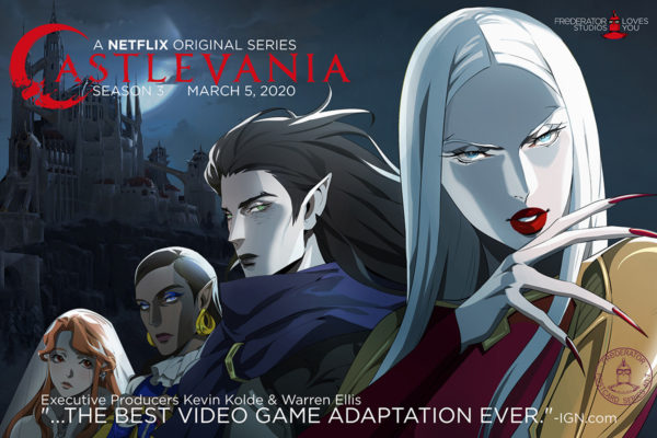 Warren Ellis wrote Castlevania season 3 in a 'rapture of mad power' – Adi…